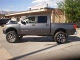 2007 Smoke Gray Nissan Titan XE Crew Cab 4x4 #34514113