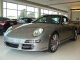 2007 Arctic Silver Metallic Porsche 911 Carrera Coupe #34513328