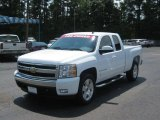 2008 Summit White Chevrolet Silverado 1500 LT Extended Cab #34514127