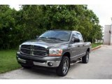 2006 Mineral Gray Metallic Dodge Ram 1500 Big Horn Edition Quad Cab 4x4 #34513566