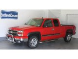 2007 Victory Red Chevrolet Silverado 1500 Classic Z71 Extended Cab 4x4 #34582008