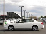 2007 White Chevrolet Malibu LS Sedan #34582017