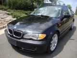 2002 Jet Black BMW 3 Series 330i Sedan #34582034