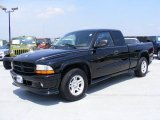 2003 Black Dodge Dakota Stampede Club Cab #34582039