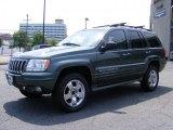 2002 Onyx Green Pearlcoat Jeep Grand Cherokee Overland 4x4 #34582040