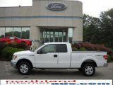 2010 Oxford White Ford F150 XLT SuperCab 4x4 #34581383
