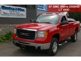 2007 Sport Red Metallic GMC Sierra 2500HD SLE Regular Cab 4x4 #34581654