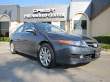 2008 Carbon Gray Pearl Acura TSX Sedan #34581964