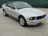 2006 Satin Silver Metallic Ford Mustang V6 Premium Convertible #34581686