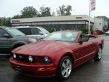 2006 Redfire Metallic Ford Mustang GT Premium Convertible #34581696