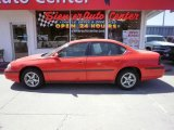 2001 Torch Red Chevrolet Impala LS #34581714