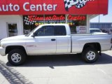 2001 Bright Silver Metallic Dodge Ram 1500 Sport Club Cab 4x4 #34581718