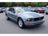 2007 Tungsten Grey Metallic Ford Mustang V6 Premium Convertible #34581724