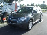 2010 Cyber Gray Metallic Chevrolet Equinox LT #34581488