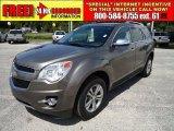 2010 Mocha Steel Metallic Chevrolet Equinox LTZ #34582230