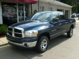 2006 Patriot Blue Pearl Dodge Ram 1500 SLT Quad Cab 4x4 #34643471