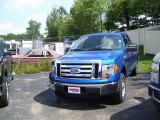 2010 Blue Flame Metallic Ford F150 XLT SuperCab 4x4 #34643180