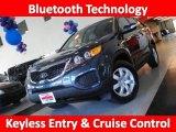 2011 Pacific Blue Kia Sorento LX #34643238