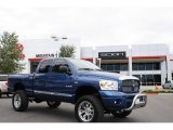 2008 Electric Blue Pearl Dodge Ram 1500 Sport Quad Cab 4x4 #34642883