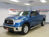 2010 Blue Streak Metallic Toyota Tundra Double Cab #34644007