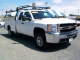 2010 Chevrolet Silverado 3500HD Work Truck Extended Cab 4x4 Chassis Data, Info and Specs