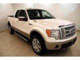 2010 Oxford White Ford F150 Lariat SuperCab 4x4 #34644056