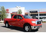 2007 Radiant Red Toyota Tundra SR5 TRD Double Cab 4x4 #34736355