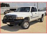 2001 Bright White Dodge Ram 2500 SLT Quad Cab 4x4 #34736709