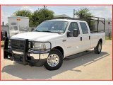 2002 Oxford White Ford F250 Super Duty XLT Crew Cab #34736710
