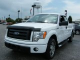 2010 Oxford White Ford F150 STX SuperCab #34736572