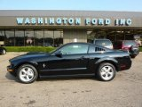 2007 Black Ford Mustang V6 Deluxe Coupe #34736775