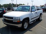 2002 Summit White Chevrolet Silverado 1500 LS Regular Cab 4x4 #34737061