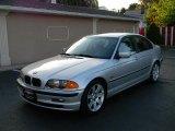 2001 Titanium Silver Metallic BMW 3 Series 325i Sedan #34736633