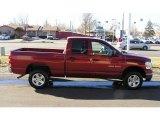 2007 Inferno Red Crystal Pearl Dodge Ram 1500 SLT Quad Cab 4x4 #3465304
