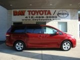 2011 Salsa Red Pearl Toyota Sienna LE #34736490