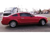2007 Torch Red Ford Mustang V6 Deluxe Coupe #3464036