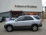 2005 Ice Blue Metallic Kia Sorento EX 4WD #34783182