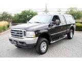 2002 Black Ford F250 Super Duty XLT SuperCab 4x4 #34783101