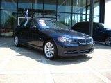 2008 Monaco Blue Metallic BMW 3 Series 335xi Sedan #34783220