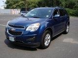 2010 Navy Blue Metallic Chevrolet Equinox LT #34799694