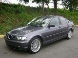 2002 Steel Grey Metallic BMW 3 Series 325xi Sedan #34800106