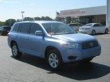 2010 Wave Line Blue Pearl Toyota Highlander V6 #34800117