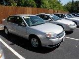 2005 Galaxy Silver Metallic Chevrolet Malibu LS V6 Sedan #34800401