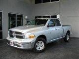 2010 Bright Silver Metallic Dodge Ram 1500 SLT Quad Cab #34799757
