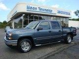 2006 Blue Granite Metallic Chevrolet Silverado 1500 LT Crew Cab 4x4 #34799970