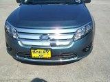 2011 Steel Blue Metallic Ford Fusion SE #34799843