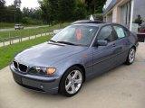 2005 Steel Blue Metallic BMW 3 Series 325i Sedan #34800250