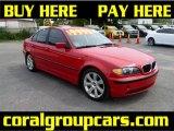 2003 Electric Red BMW 3 Series 325i Sedan #34800485