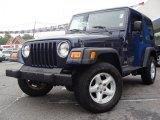 2006 Midnight Blue Pearl Jeep Wrangler X 4x4 #34800533