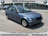 2002 Steel Blue Metallic BMW 3 Series 325i Sedan #34851358